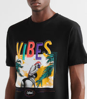 Outrank  Vibes Tee  Black - OR800-BLK | Jimmy Jazz