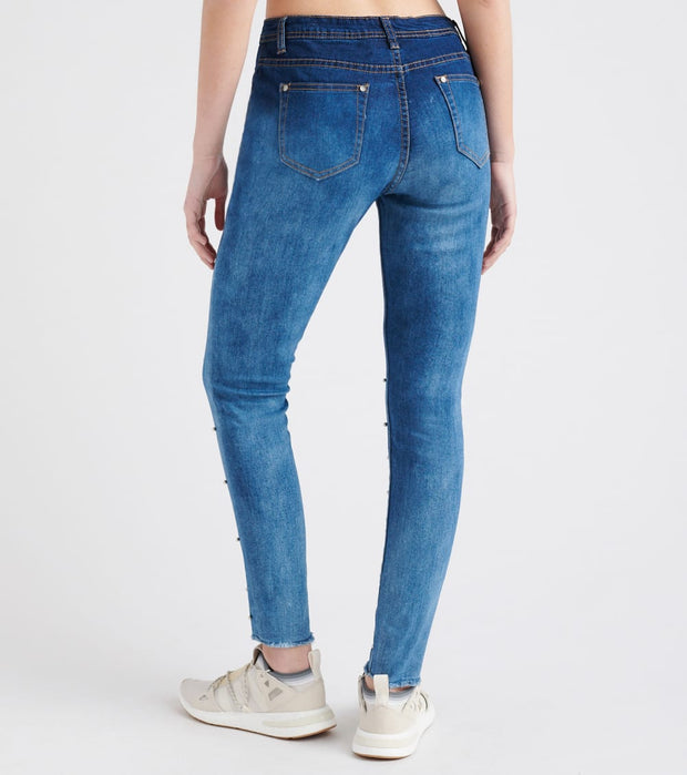 Essentials  Cloud Wash Skinny Jean  Blue - P20107-CLD | Jimmy Jazz