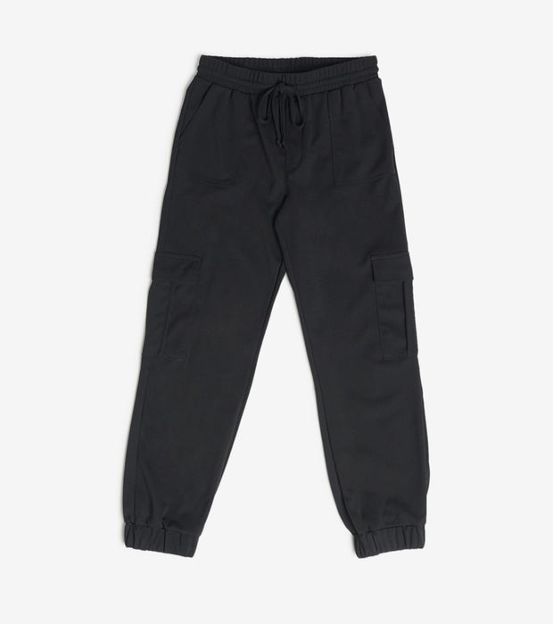 Essentials  Crepe Pull on Cargo Jogger  Black - P20456-BLK | Jimmy Jazz