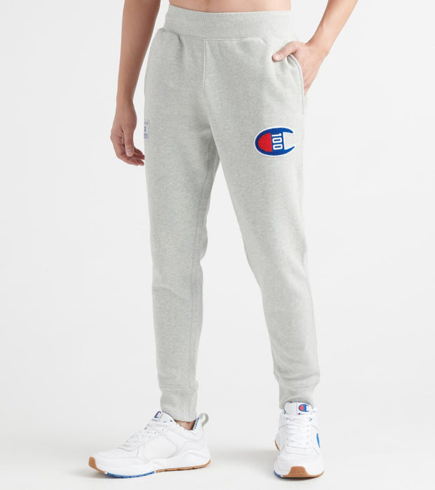Champion  Century Joggers W Chenille Patch  Grey - P4310550155-806 | Jimmy Jazz