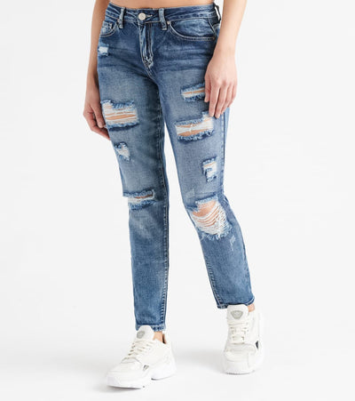 Essentials  Dream Rip and Tear Jean  Blue - P734468-97M1 | Jimmy Jazz