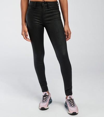 Essentials  Mid Rise Hyperstretch Skinny Jeans  Black - P748931C-1199 | Jimmy Jazz
