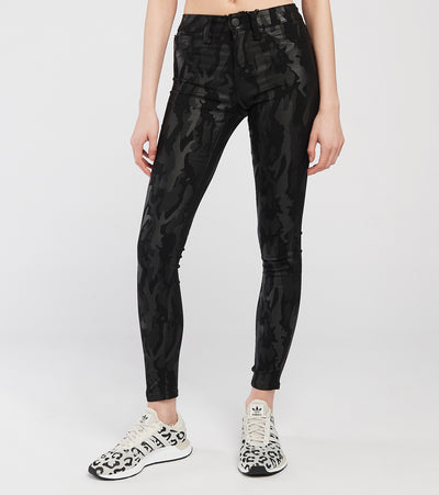 Mid-Rise Hyperstretch Skinny Jeans