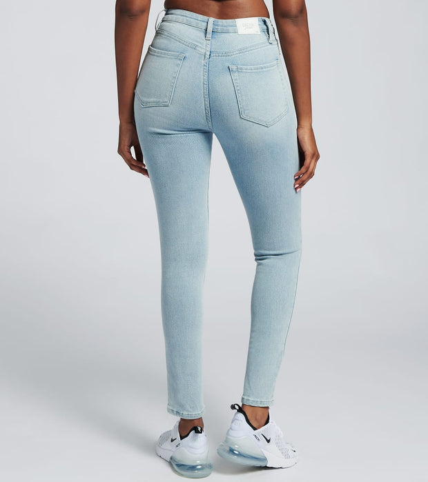 Essentials  Super Highrise Skinny Jeans  Blue - P932270-1227Q | Jimmy Jazz