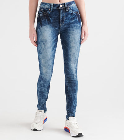 Essentials  Luxe Lift Skinny Jeans  Blue - P937446-S1328 | Jimmy Jazz