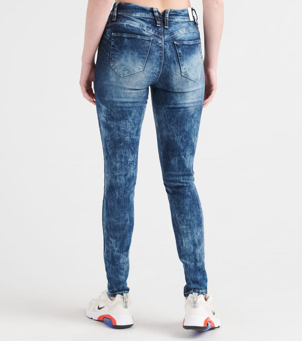 Essentials  Luxe Lift Skinny Jean  Blue - P937446-S1328 | Jimmy Jazz