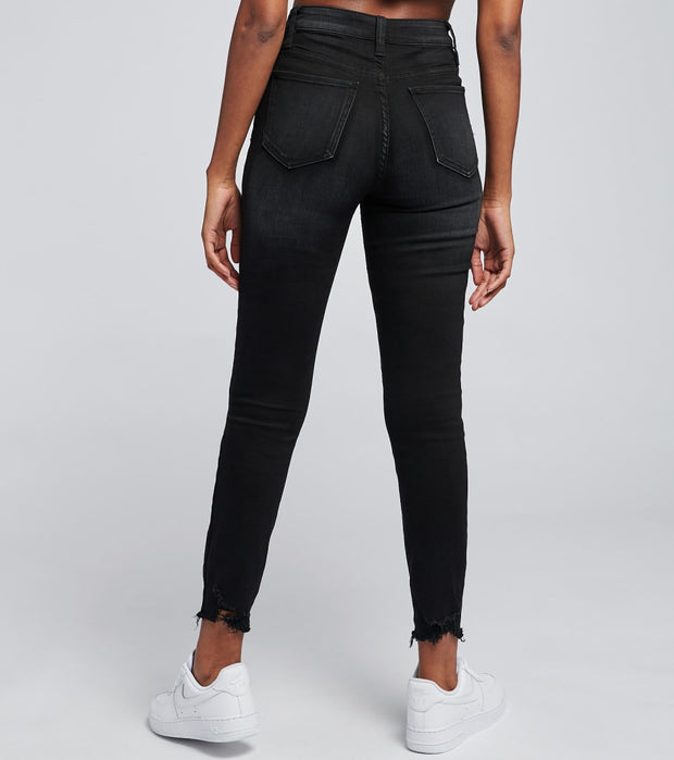Essentials  Basic 5 Pocket Lycra Skinny Jeans  Black - P955129-1200 | Jimmy Jazz