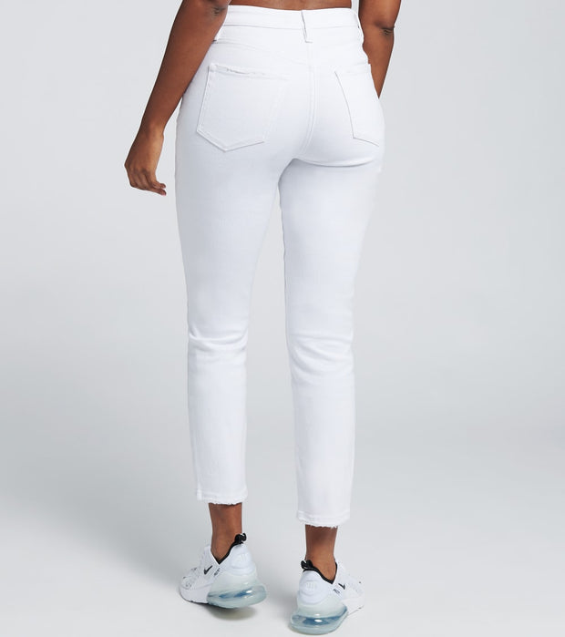 Essentials  Dream High Rise Jeans   White - P983368-K1565 | Jimmy Jazz