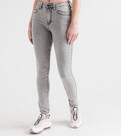 Essentials  Wanna Betta Butt HI Rise Skinny Jean  Grey - P984801-169X2 | Jimmy Jazz