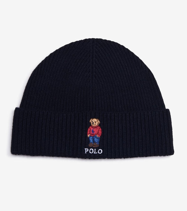 Polo Ralph Lauren  Pony Bear Knit Hat  Black - PC0491-001 | Jimmy Jazz