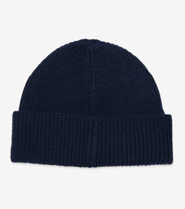 Polo Ralph Lauren  Solid Toggle Bear Cuff Hat  Navy - PC0680-411 | Jimmy Jazz