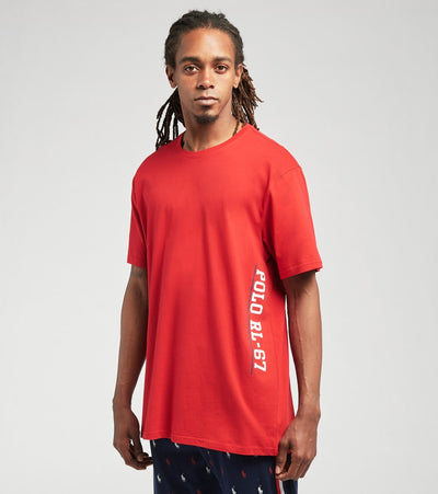 Polo  Logo Crew Knit Short Sleeve Tee  Red - PK20SR-AU7D | Jimmy Jazz