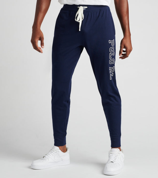 Polo  Knit Jersey Joggers  Navy - PK23SR-E4U | Jimmy Jazz