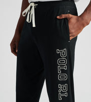 Polo  Knit Jersey Joggers  Black - PK23SR-PX4 | Jimmy Jazz
