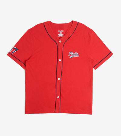 Polo  Baseball Small Logo Shirt  Red - PK62SR-2IJ | Aractidf