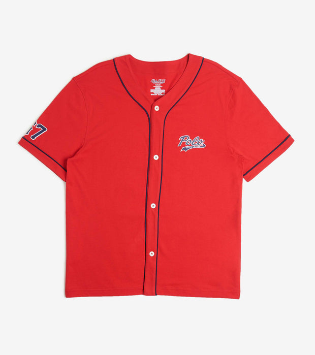 Polo  Baseball Small Logo Shirt  Red - PK62SR-2IJ | Jimmy Jazz