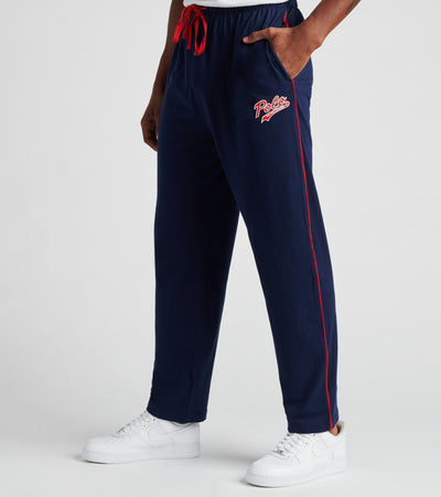 Polo  Knit Jersey Logo Pants  Blue - PK64SR-2G1 | Jimmy Jazz