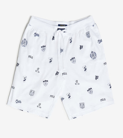 Polo  Print Shorts  White - PK75SR-1GK | Jimmy Jazz