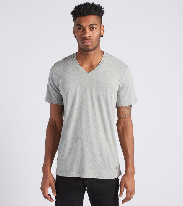 Polo  V-Neck Tee  Grey - PL84FR-W8D | Jimmy Jazz