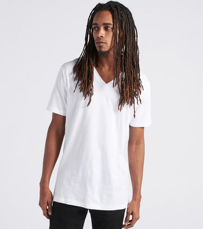 Polo  V-Neck Tee  White - PL84FR-WHD | Jimmy Jazz
