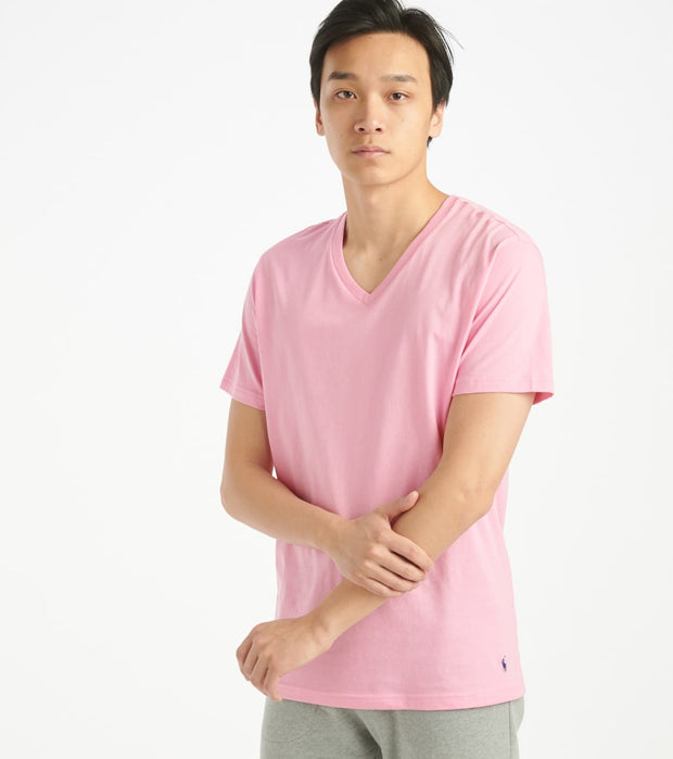 Polo  Supreme Comfort V-Neck Tee  Pink - PL84SF-2L6 | Jimmy Jazz