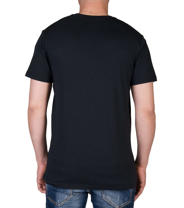 Polo  Polo V-Neck Tee  Black - PL84SF-LUR | Jimmy Jazz