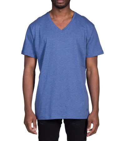 Polo  Polo V-Neck Tee  Blue - PL84SF-M0R | Jimmy Jazz