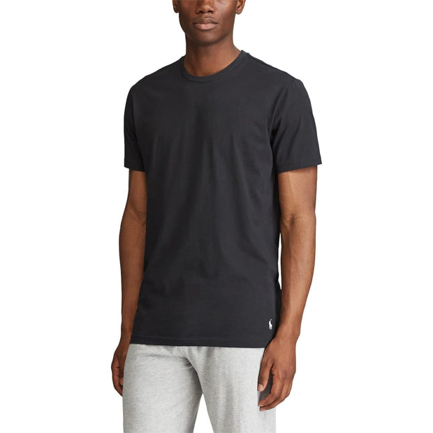 Polo  Supreme Comfort Crewneck Tee  Black - PL86SF-2IP | Jimmy Jazz