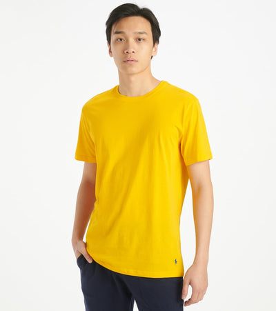 Polo  Supreme Comfort Crewneck Tee  Yellow - PL86SF-2L8 | Jimmy Jazz