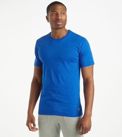 Polo  Supreme Comfort Crewneck Tee  Blue - PL86SF-2JL | Jimmy Jazz