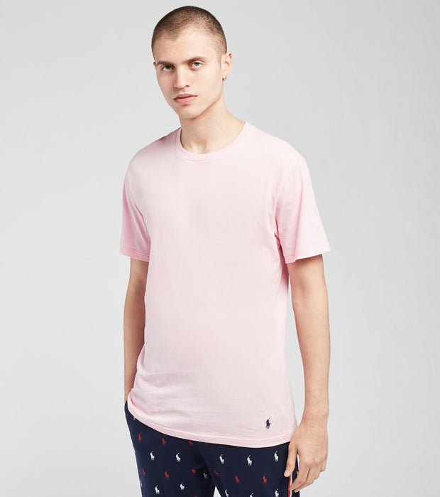 Polo  Short Sleeve Crew Neck Tee   Pink - PL86SF-AWZD | Jimmy Jazz