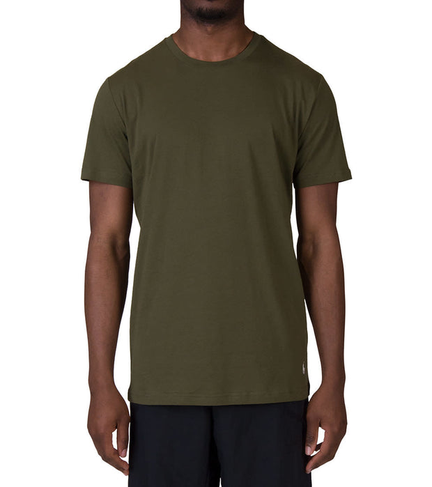 Polo  Polo Crew neck Tee  Green - PL86SF-M2N | Jimmy Jazz