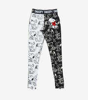 Essentials  Snoopy Heart Leggings  Black - PNG0027-MUL | Jimmy Jazz