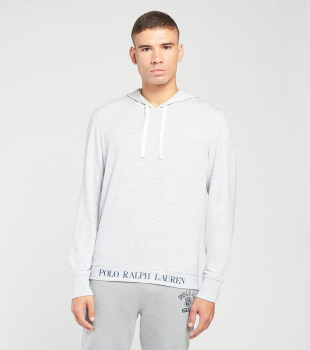 Polo  Mini Terry Long Sleeve Pullover Hoodie  Grey - PP21HR-AUWG | Jimmy Jazz
