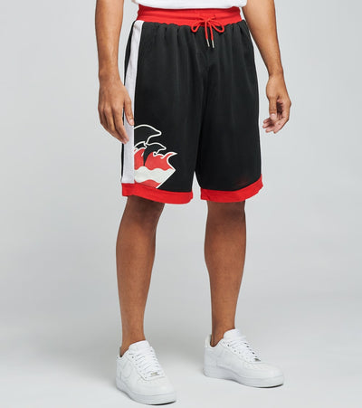 Pink Dolphin  Wave Hoop Shorts  Black - PS11701WHSBL-BLK | Jimmy Jazz