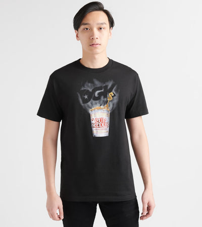 Dgk  DGK X Cup Noodles Heat Tee  Black - PTM1676-BLK | Jimmy Jazz