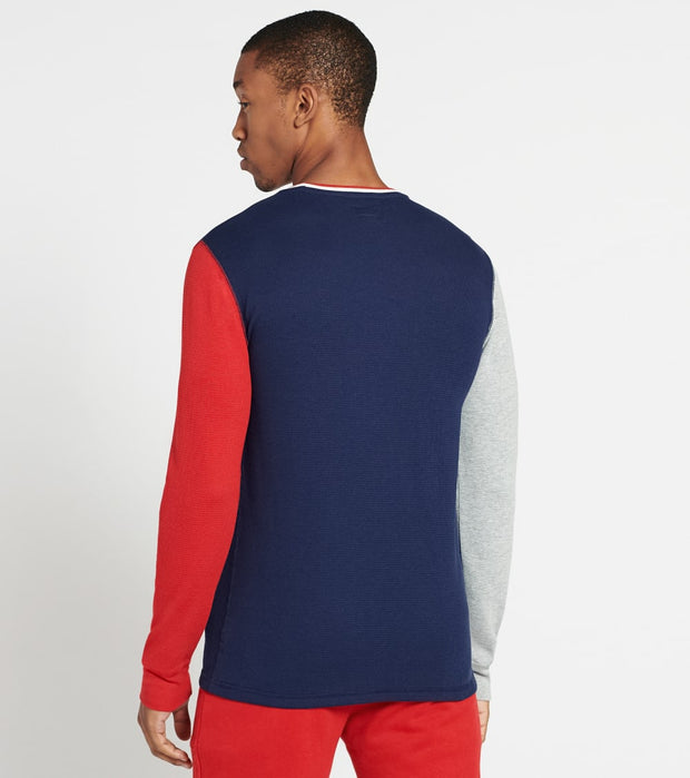 Polo  Color Block USA Crew Thermal  Navy - PW14HF-QHD | Jimmy Jazz