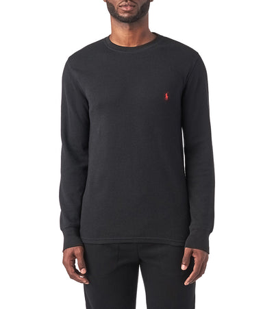 Polo  Long Sleeve Crew Thermal  Black - PWLCFR-PBD | Jimmy Jazz