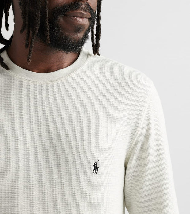 Polo  Long Sleeve Crew Thermal  Beige - PWLCFR-YFD | Jimmy Jazz