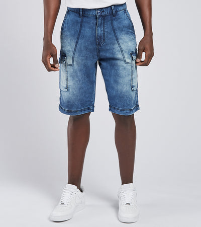 Decibel  Loop Denim Utility Short  Blue - R1022AFJ-INVBL | Jimmy Jazz