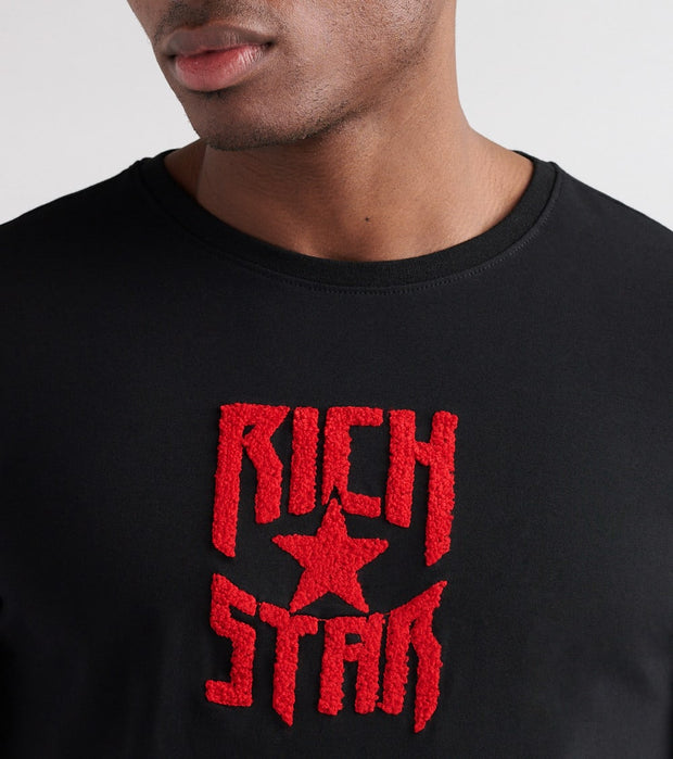 Rich Star  Robbery Money Tee  Black - R1230129-BLK | Jimmy Jazz