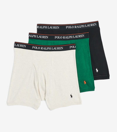 Polo  3 Pack Boxer Briefs  Black - RCBBH3-AR3B | Jimmy Jazz
