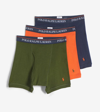 Polo  3PK Boxer Briefs  Navy - RCBBH3-OUO | Jimmy Jazz