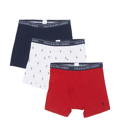 Polo  3 Boxer Briefs  Multi - RCBBP3-L8D | Jimmy Jazz