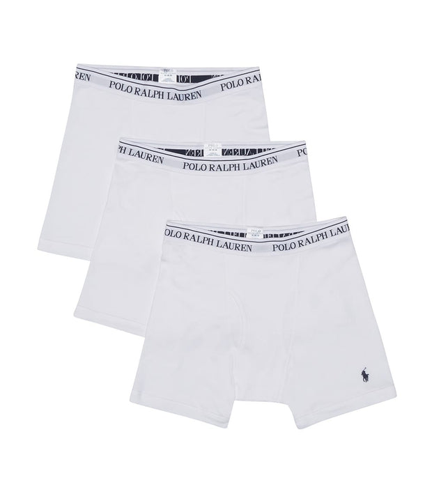 Polo  3 Boxer Briefs  White - RCBBP3-WHD | Jimmy Jazz