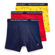 Polo  Classic Fit Boxer 3-Pack  Yellow - RCBBS3-2SL | Jimmy Jazz