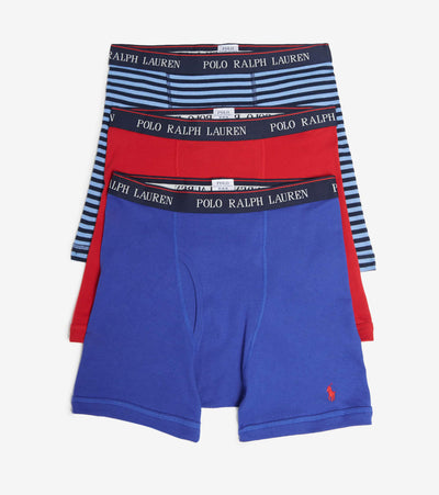 Polo  3 Pack Boxer Briefs  Red - RCBBS3-AWID | Jimmy Jazz