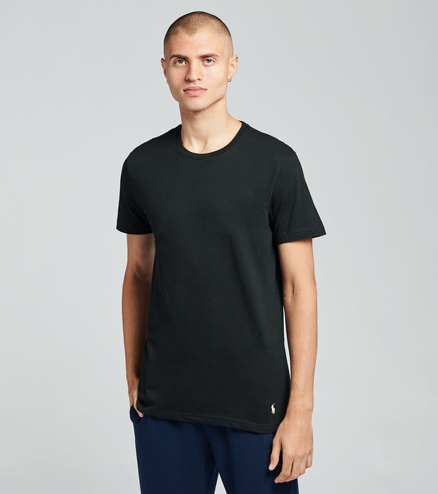 Polo  3 Pack Crew Neck Tees  Black - RCCNH3-AW2G | Jimmy Jazz