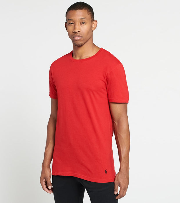 Polo  Classic Fit Crewneck 3-Pack  Red - RCCNH3-PBE | Jimmy Jazz