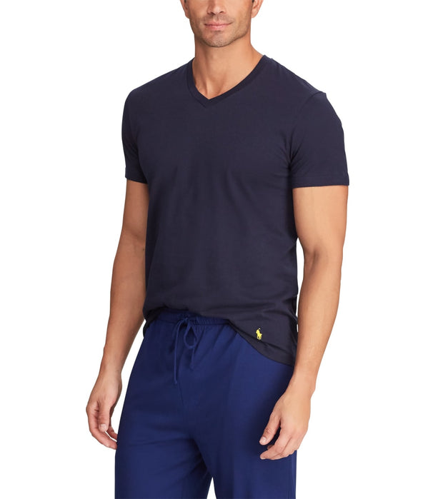 Polo  Classic Fit Crewneck 3-Pack  Navy - RCCNH3-UIO | Jimmy Jazz